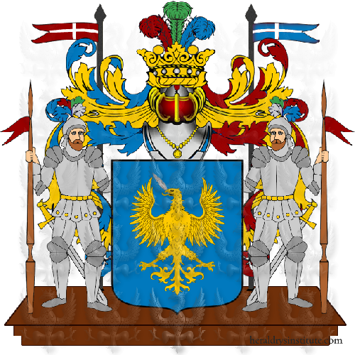 Coat of Arms of family Pennarelli