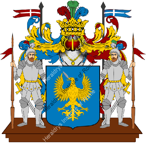 Coat of Arms of family Pennazio