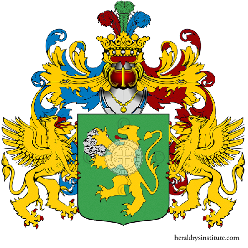 Coat of Arms of family Sassofrasso