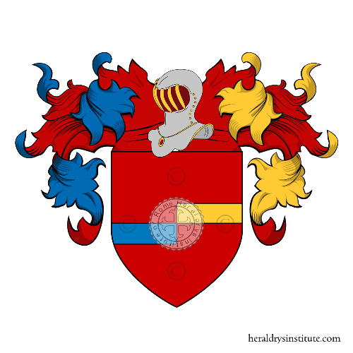 Coat of Arms of family Mellia