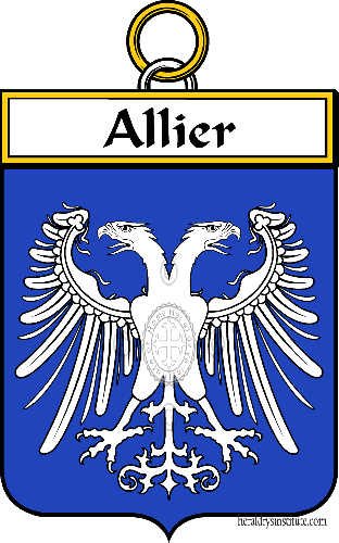 Coat of arms of family Allier