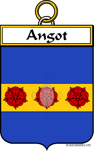 Coat of arms of family Angot