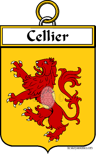 Coat of arms of family Cellier
