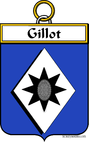 Coat of arms of family Gillot ref: 34455