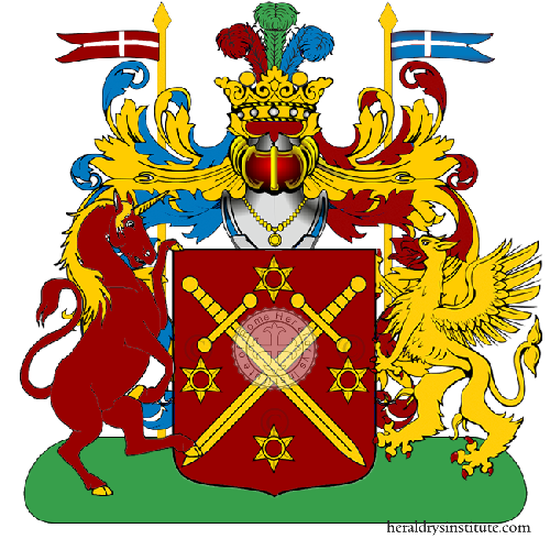 Coat of Arms of family Ereni
