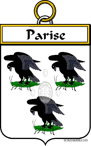 Coat of arms of family Parise ref: 34802