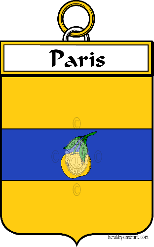 Coat of arms of family Paris