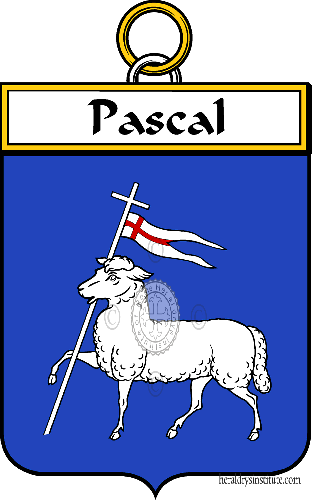 Coat of arms of family Pascal