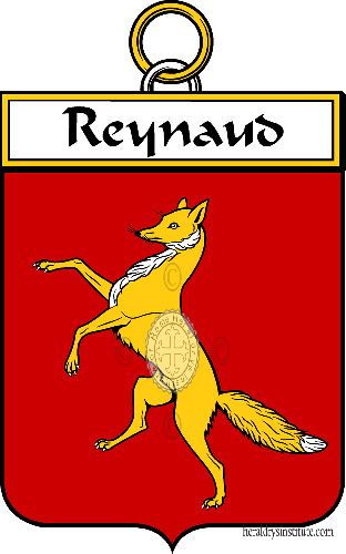 Coat of arms of family Reynaud