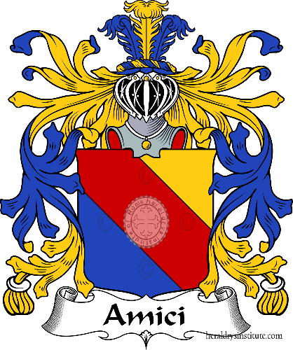 Coat of arms of family Amici