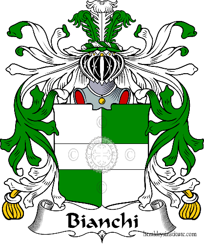 Coat of arms of family Bianchi