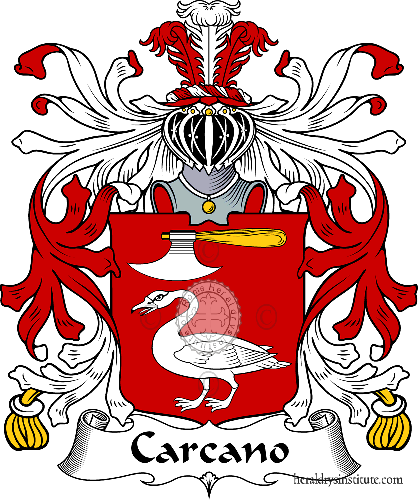 Coat of arms of family Carcano