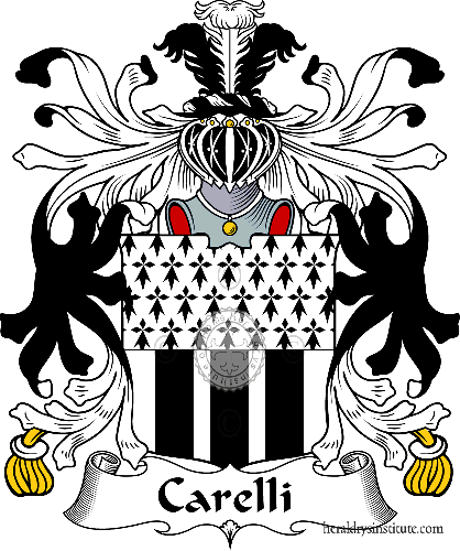 Coat of arms of family Carelli