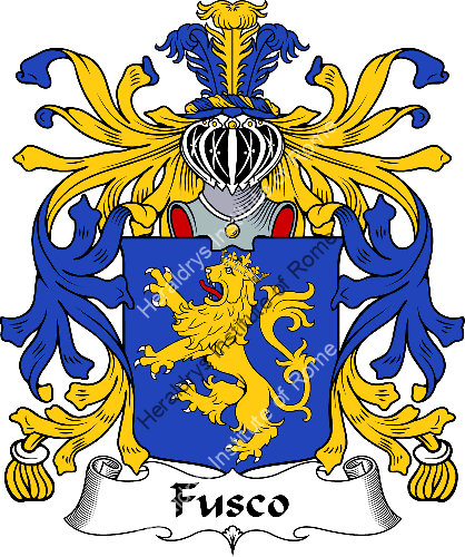 Coat of arms of family Fusco