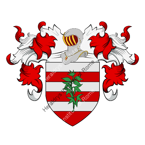 Coat of Arms of family Donellini