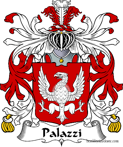 Coat of arms of family Palazzi