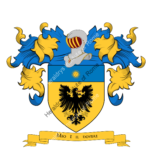 Coat of Arms of family Romilia