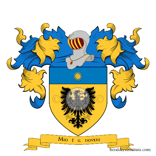 Coat of Arms of family Romilio