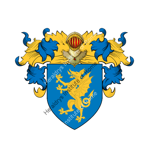 Coat of arms of family Dragotto