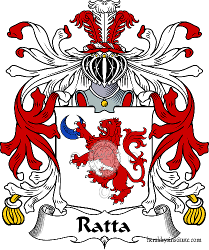 Coat of arms of family Ratta ref: 35789