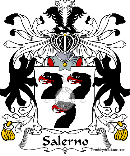 Coat of arms of family Salerno