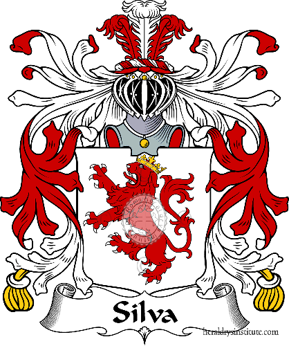 Coat of arms of family Silva