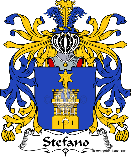 Coat of arms of family Stefano