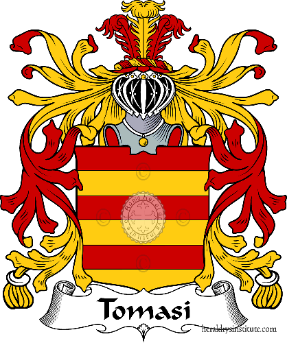 Coat of arms of family Tomasi - ref:35961