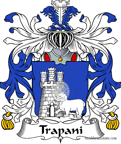 Coat of arms of family Trapani - ref:35972