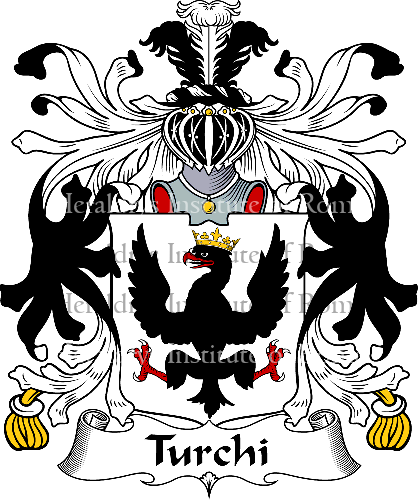 Coat of arms of family Turchi - ref:35979