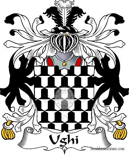Coat of arms of family Ughi - ref:35990