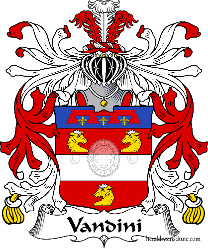 Coat of arms of family Vandini - ref:36004