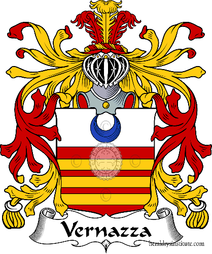 Coat of arms of family Vernazza - ref:36023