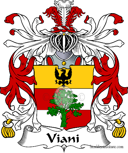 Coat of arms of family Viani - ref:36028