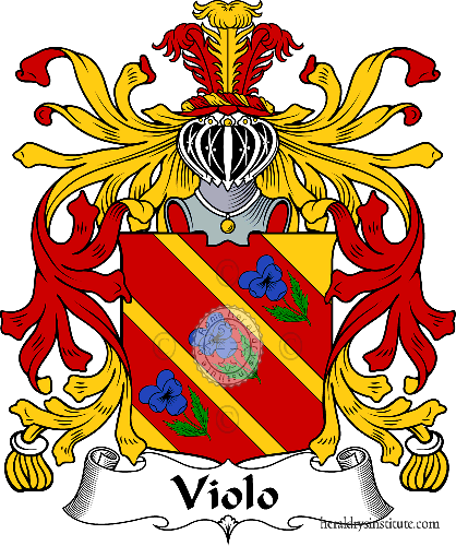 Coat of arms of family Violo - ref:36043