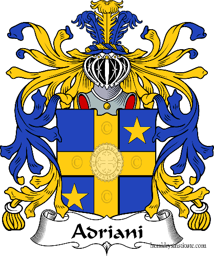 Coat of arms of family Adriani