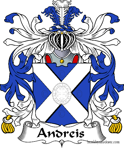 Coat of arms of family Andreis - ref:36077