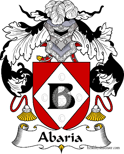Coat of arms of family Abaria - ref:36094