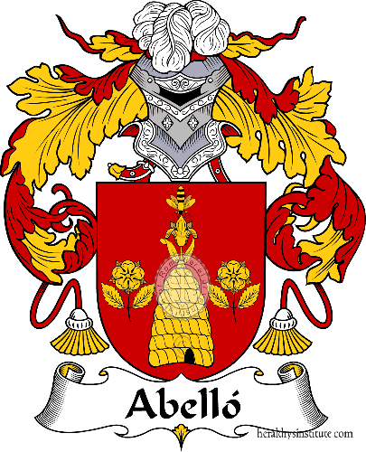 Coat of arms of family Abelló