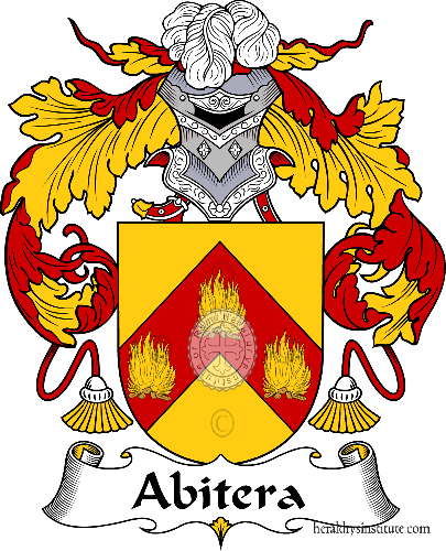 Coat of arms of family Abitera - ref:36112