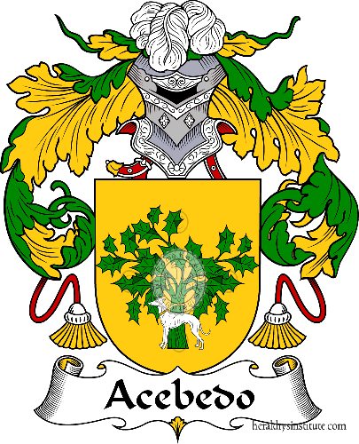 Coat of arms of family Acebedo or Acevedo I - ref:36122