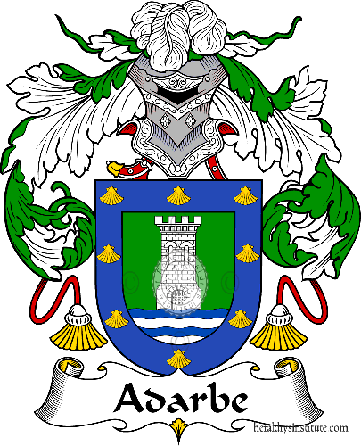 Coat of arms of family Adarbe - ref:36138