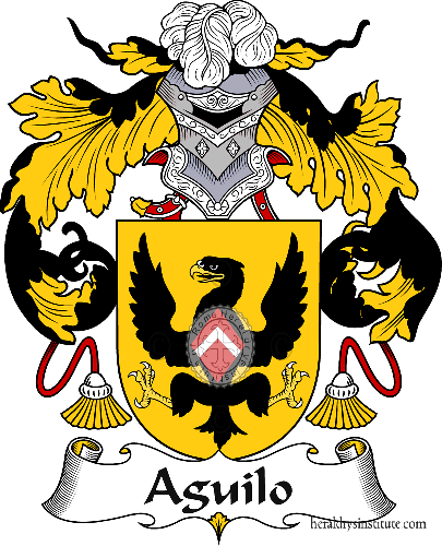 Coat of arms of family Aguilo - ref:36160