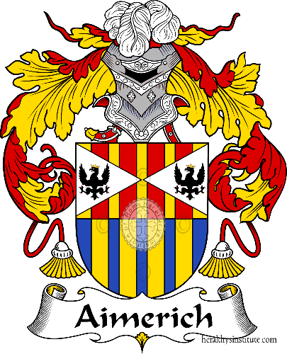 Coat of arms of family Aimerich - ref:36172