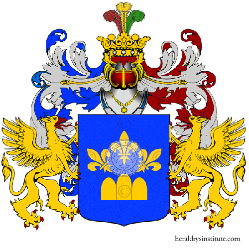 Coat of Arms of family Deruda
