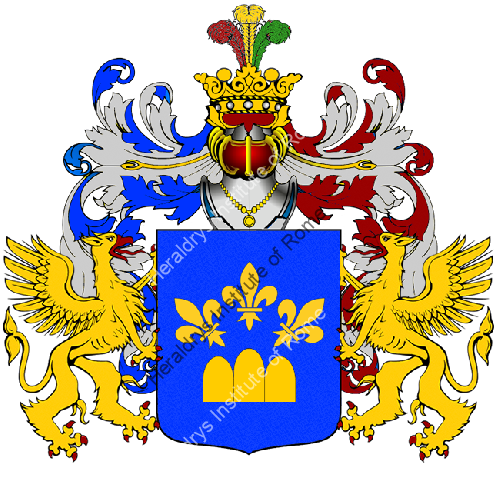 Coat of Arms of family Rudda