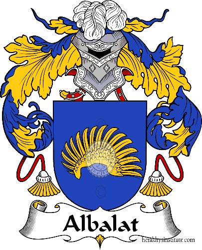 Coat of arms of family Albalat - ref:36182