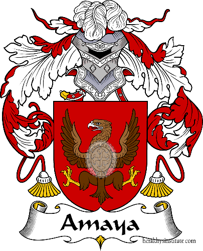 Coat of arms of family Amaya - ref:36238