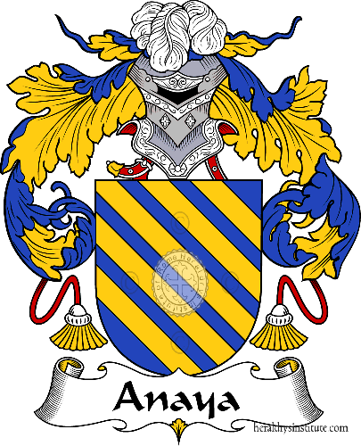 Coat of arms of family Anaya - ref:36252