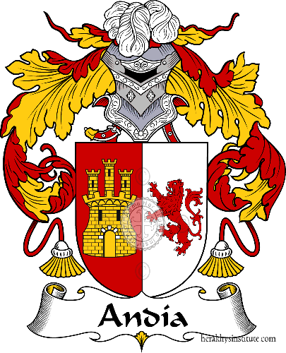 Coat of arms of family Andia - ref:36256